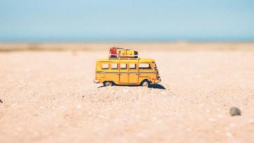 vacances voyage van partir plage