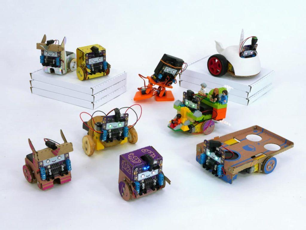 Les différents robots construits