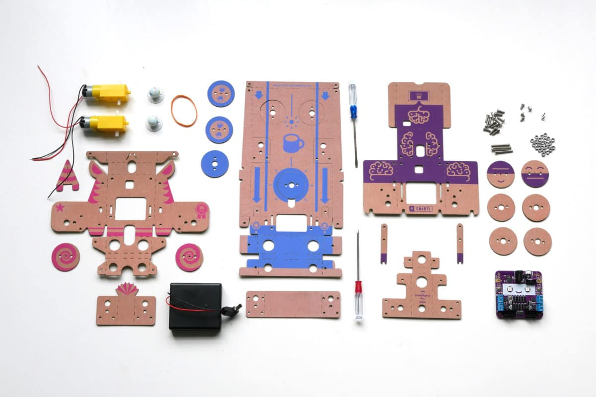 contenu des kits Smartibot