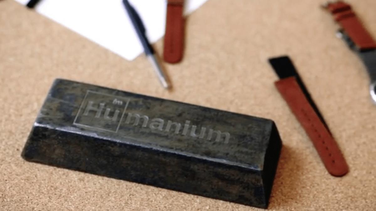 lingot d'Humanium metal