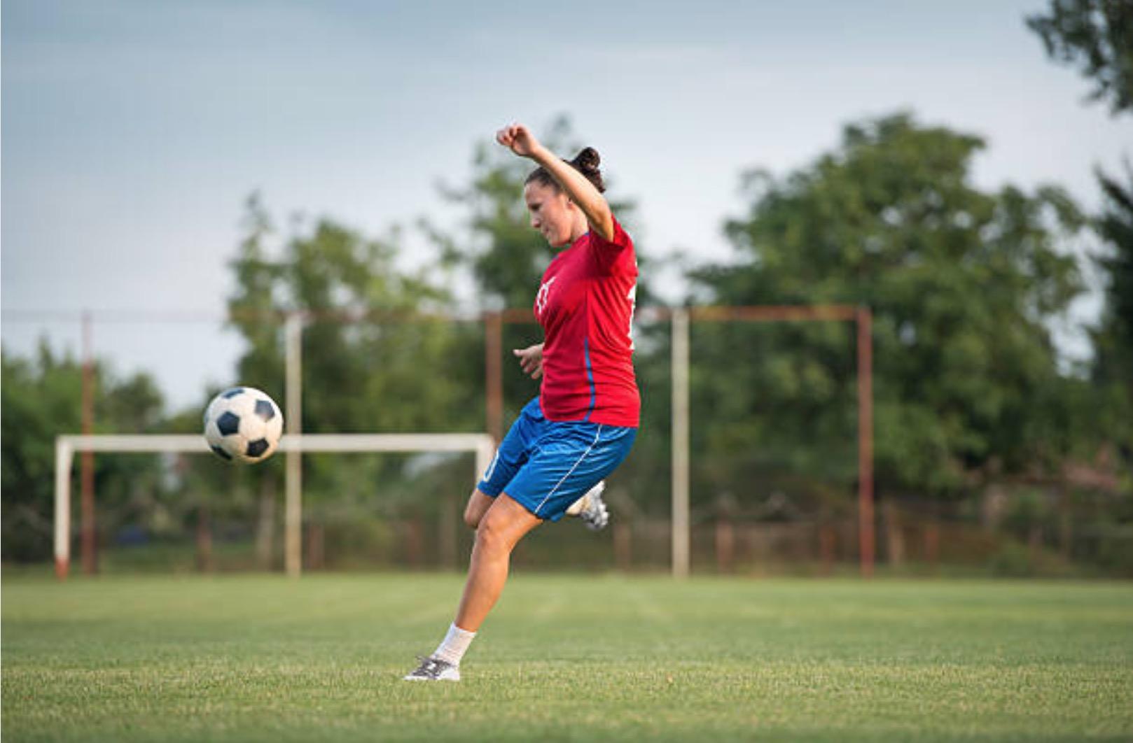 football feminin joueuse