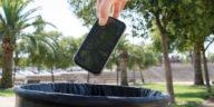 recyclage téléphone mobile
