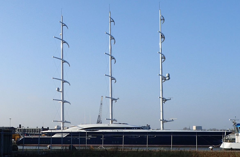 Mega Yacht Black Pearl, Rotterdam