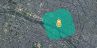 Paris carte coronavirus 2