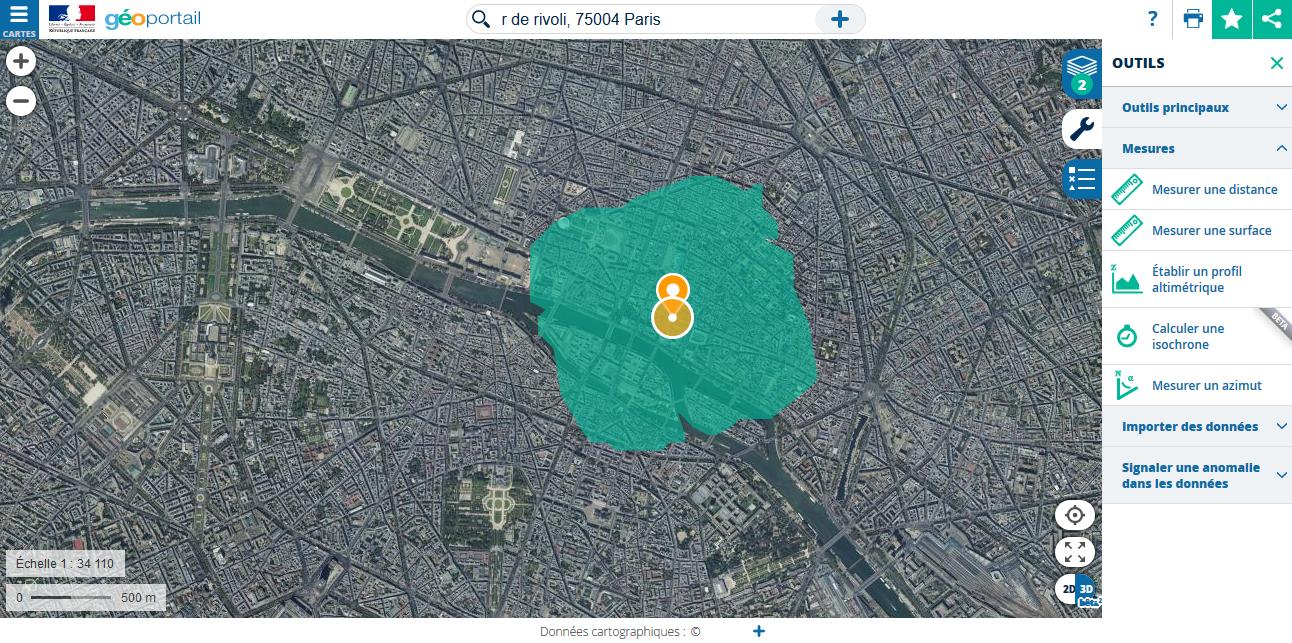 Paris carte coronavirus