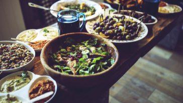 repas végétarien