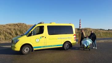 ambulance dernier souhait patient
