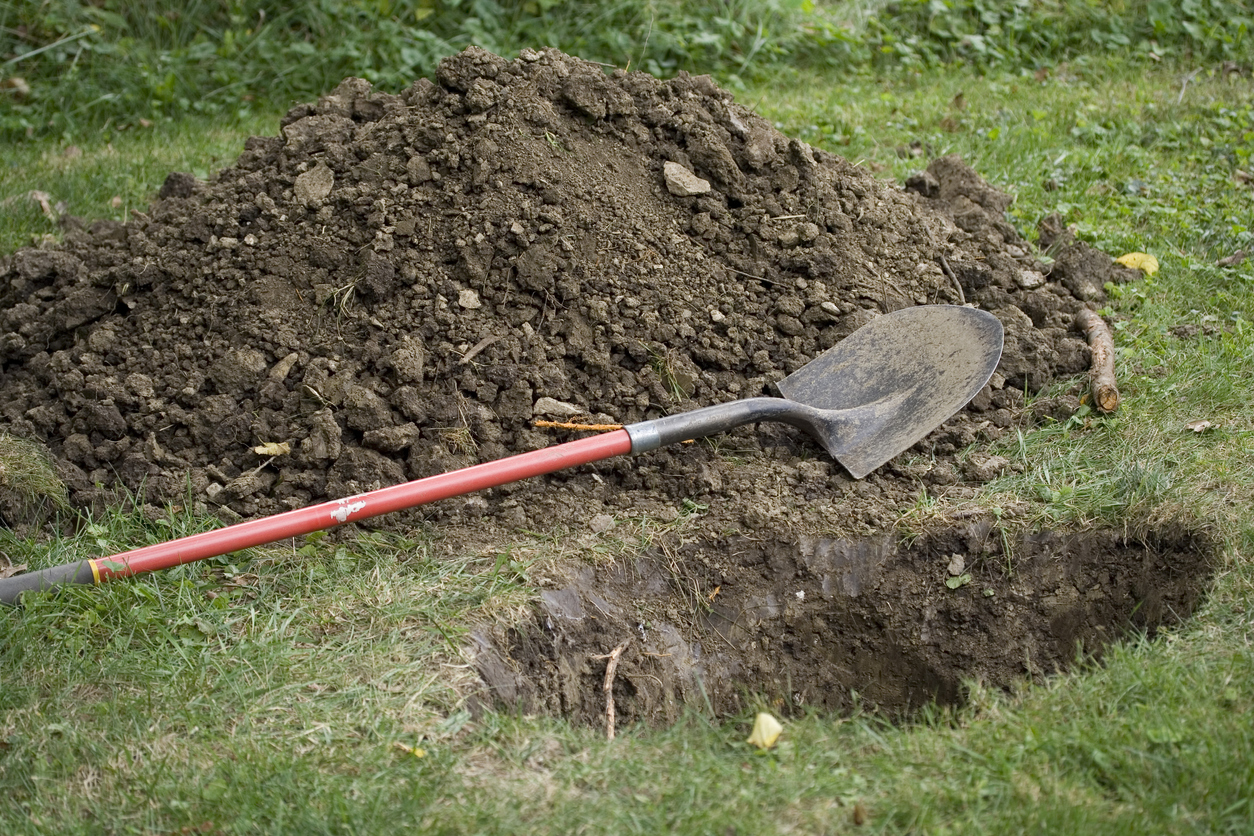 creuser tombe