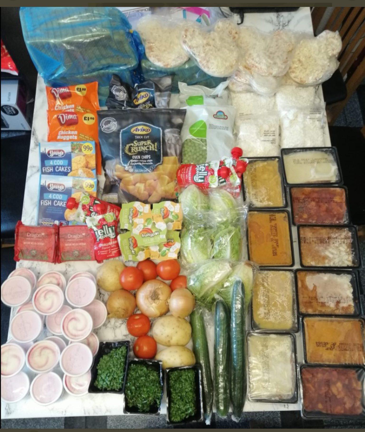 colis alimentaire Royaume-Uni