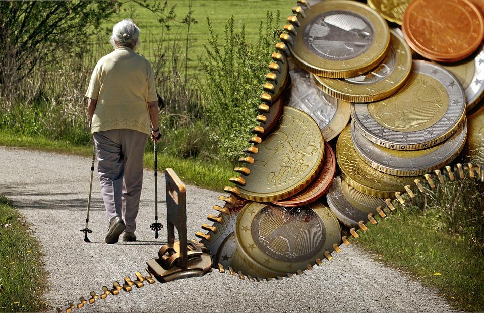 argent retraités