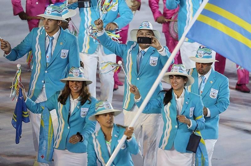 Aruba jeux olympique delegation